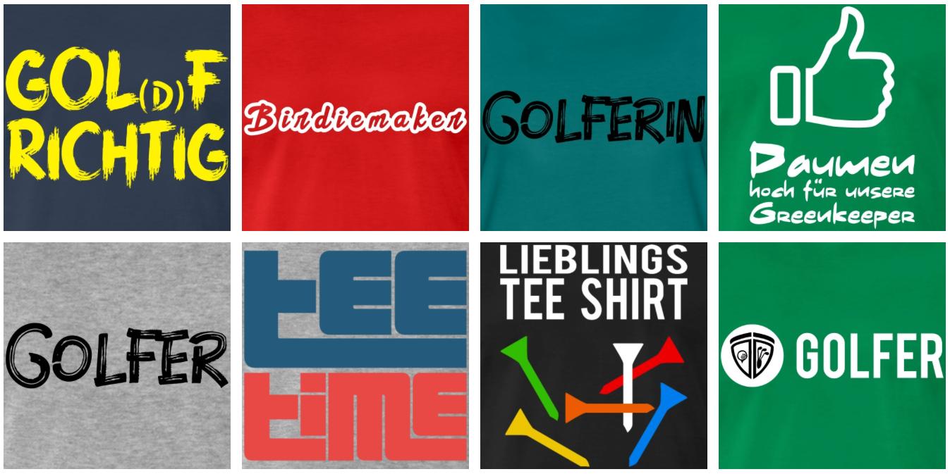 Golfshirts von Langer Sport Marketing